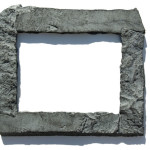 Gray 11x14 Rock Picture Frame