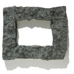 Gray 4x6 Rock Picture Frame