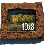 Tan 8x10 Rock Picture Frame