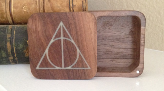 Deathly Hallows Glow Boxes